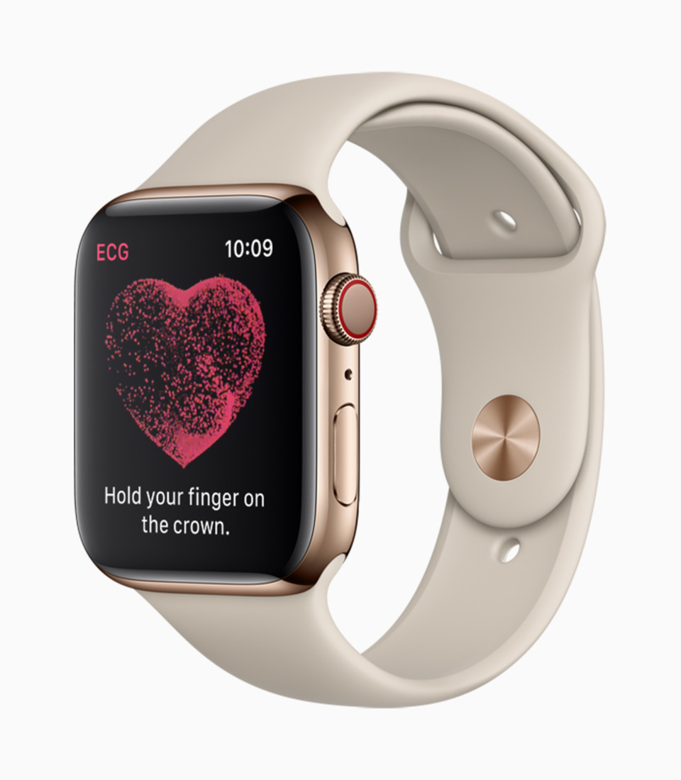 b96f3a9b3 Apple Unveils Electrocardiogram App as Part of New Series 4 Apple Watch